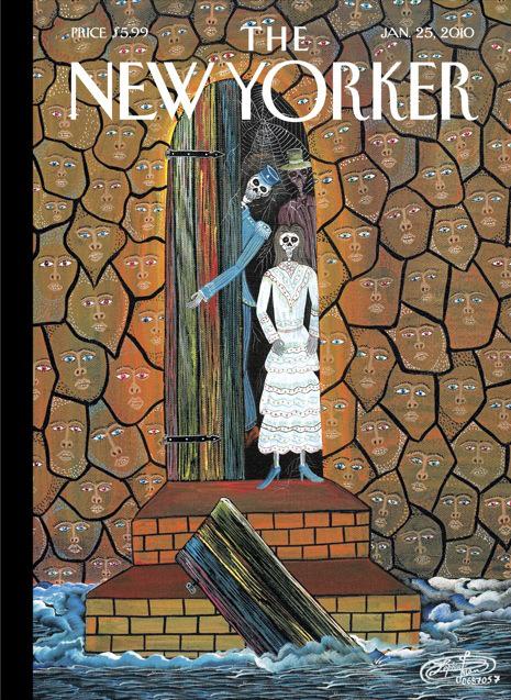 """""""La Résurrection des Morts"""" (2007), page de couverture du New Yorker, 25 janvier 2010."""